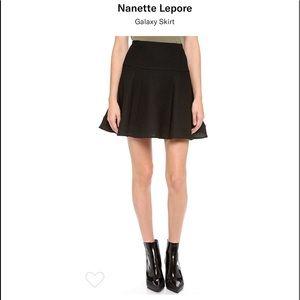 Nanette Lepore Black Skirt NWT 8